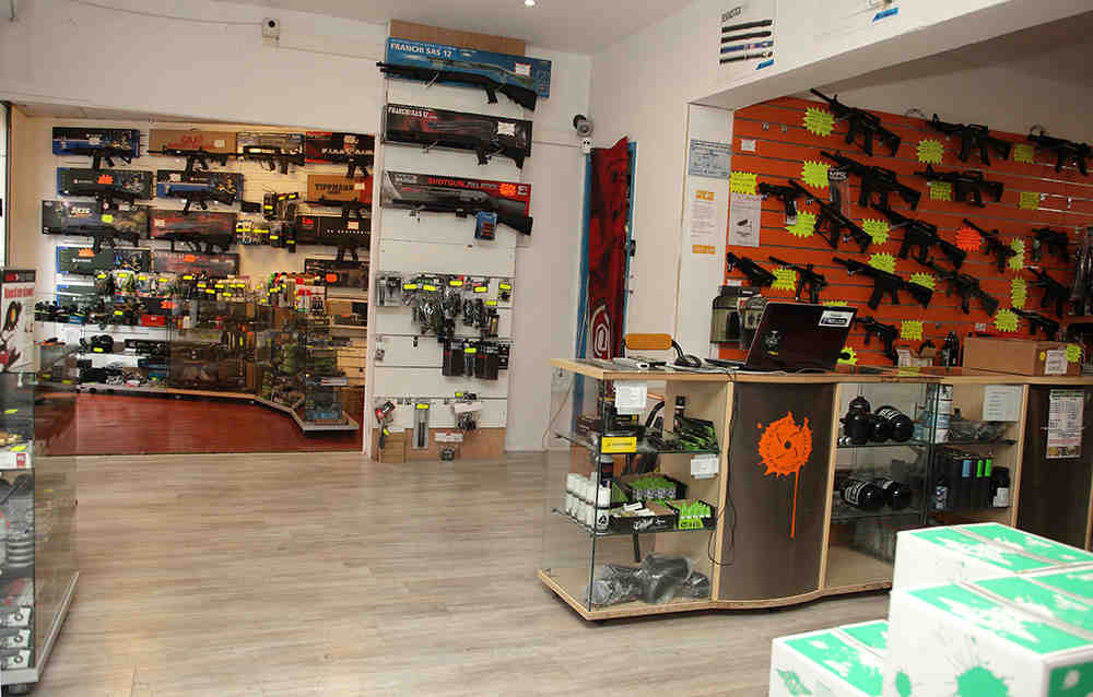magasin, airsoft, paris